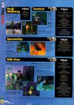 Scan of the walkthrough of Jet Force Gemini published in the magazine N64 36, page 3