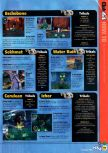 Scan of the walkthrough of Jet Force Gemini published in the magazine N64 36, page 4