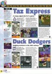 Scan of the preview of Duck Dodgers Starring Daffy Duck published in the magazine N64 38, page 1