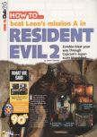 Scan of the walkthrough of Resident Evil 2 published in the magazine N64 38