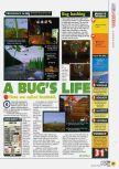 Scan of the review of A Bug's Life published in the magazine N64 39