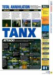 Scan of the review of Battletanx: Global Assault published in the magazine N64 40