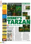 Scan of the review of Tarzan published in the magazine N64 40
