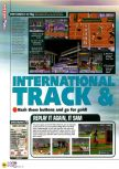 Scan of the review of International Track & Field 2000 published in the magazine N64 41