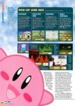 Scan du test de Kirby 64: The Crystal Shards paru dans le magazine N64 42