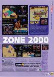 Scan du test de NBA In The Zone 2000 paru dans le magazine N64 44