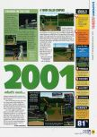 Scan of the review of All-Star Baseball 2001 published in the magazine N64 44, page 2