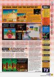 Scan du test de Kirby 64: The Crystal Shards paru dans le magazine N64 45