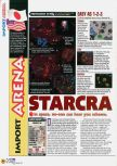 Scan of the review of Starcraft 64 published in the magazine N64 45, page 1