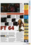 Scan of the review of Starcraft 64 published in the magazine N64 45, page 2