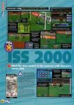 Scan of the review of International Superstar Soccer 2000 published in the magazine N64 46