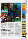 Scan of the review of Paper Mario published in the magazine N64 47, page 4
