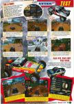 Scan of the review of Off Road Challenge published in the magazine Le Magazine Officiel Nintendo 07