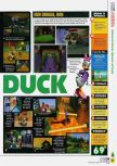 Scan of the review of Donald Duck: Quack Attack published in the magazine N64 49