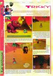 Scan of the walkthrough of  published in the magazine Gameplay 64 HS1, page 6