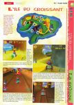 Scan of the walkthrough of  published in the magazine Gameplay 64 HS1, page 9
