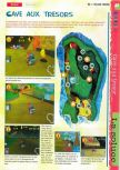 Scan of the walkthrough of  published in the magazine Gameplay 64 HS1, page 11