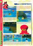 Scan of the walkthrough of  published in the magazine Gameplay 64 HS1, page 12