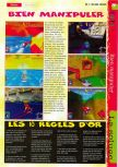 Scan of the walkthrough of  published in the magazine Gameplay 64 HS1, page 35