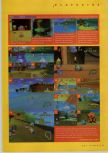 Scan of the walkthrough of Diddy Kong Racing published in the magazine N64 Gamer 02