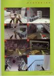 Scan of the walkthrough of Goldeneye 007 published in the magazine N64 Gamer 02
