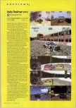 Scan of the preview of Rally Challenge 2000 published in the magazine N64 Gamer 30, page 1