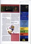 Scan of the review of Bomberman 64: The Second Attack published in the magazine N64 Gamer 30, page 4