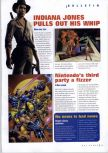Scan of the preview of X-Men: Mutant Academy published in the magazine N64 Gamer 30, page 1