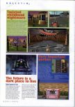 Scan of the preview of Carnivalé: Cenzo's Adventure published in the magazine N64 Gamer 34, page 1