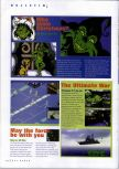 Scan of the preview of Gendai Dai-Senryaku: Ultimate War published in the magazine N64 Gamer 34, page 1