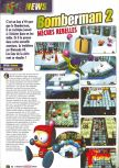 Scan of the preview of Bomberman 64: The Second Attack published in the magazine Le Magazine Officiel Nintendo 13