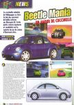Scan of the preview of Beetle Adventure Racing published in the magazine Le Magazine Officiel Nintendo 13