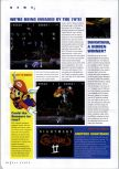 Scan of the preview of Nightmare Creatures II published in the magazine N64 Gamer 17, page 1
