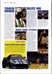 Scan of the preview of NBA Courtside 2 featuring Kobe Bryant published in the magazine N64 Gamer 17, page 1