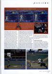 Scan of the review of Ken Griffey Jr.'s Slugfest published in the magazine N64 Gamer 17, page 2
