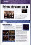 Scan of the article E3 1999 Report published in the magazine N64 Gamer 17, page 1