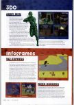 Scan of the preview of Duck Dodgers Starring Daffy Duck published in the magazine N64 Gamer 17, page 1