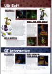 Scan of the preview of Hype: Time Quest published in the magazine N64 Gamer 17, page 1