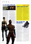 Scan of the preview of Mortal Kombat: Special Forces published in the magazine N64 Gamer 14, page 1