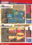 Scan of the walkthrough of Star Wars: Rogue Squadron published in the magazine Le Magazine Officiel Nintendo 14