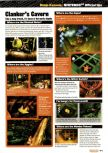 Scan of the walkthrough of Banjo-Kazooie published in the magazine Nintendo Official Magazine 73