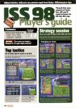 Scan of the walkthrough of International Superstar Soccer 98 published in the magazine Nintendo Official Magazine 73, page 1