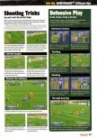 Scan of the walkthrough of International Superstar Soccer 98 published in the magazine Nintendo Official Magazine 73, page 2