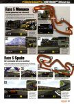 Scan of the walkthrough of F-1 World Grand Prix published in the magazine Nintendo Official Magazine 74