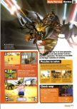 Scan of the review of Body Harvest published in the magazine Nintendo Official Magazine 74