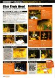 Scan of the walkthrough of Banjo-Kazooie published in the magazine Nintendo Official Magazine 74
