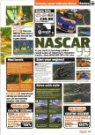 Scan of the review of NASCAR '99 published in the magazine Nintendo Official Magazine 75, page 1