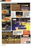 Scan of the review of NBA Live 99 published in the magazine Nintendo Official Magazine 76