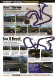Scan of the walkthrough of F-1 World Grand Prix published in the magazine Nintendo Official Magazine 76