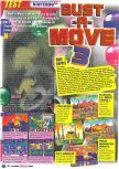 Scan of the review of Bust-A-Move 3 DX published in the magazine Le Magazine Officiel Nintendo 10